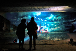 Down Town Gallery I Krefelder Perpektivenwechsel I Street Art I Samara Blue Photo Art I Gregor Wosik