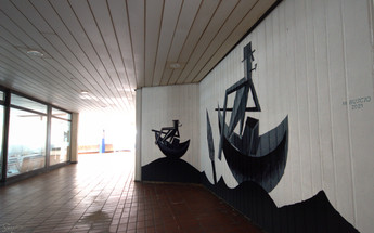 Streetart I Graffiti I  Mural I Silk City Gallery Krefeld 2021 I Samara Blue Urbexart I Michele Buscio