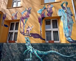 Street Art I Graffiti I Mural  Lifestyle I Kiefernstraße I Samara Blue I MalKarsten I Karsten Breide