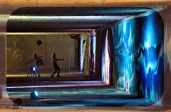 Down Town Gallery I Krefelder Perspektivenwechsel I Street Art I Samara Blue Photo Art I Bunker