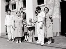 Freibad Krefeld Saison Eröffnung 10.05.1960