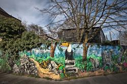 Street Art I Schlachthof Krefeld I TUBUKU I Lifestyle I Graffiti I Design I Urbex Art I Samara Blue
