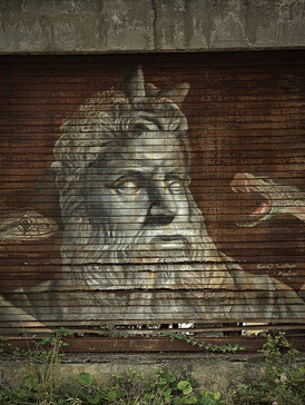 Wood Art Gallery Krefeld I Street Art I Perspektivenwechsel I Samara Blue Photo Art