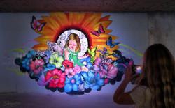 Down Town Gallery I Krefelder Perspektivenwechsel I Street Art I Samara Blue I Floya Jam I Bunker