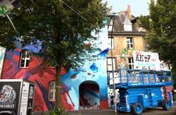 Streetart I Graffiti I Urban Art Düsseldorf I Kiefern I Düsseldorf I Urbexart I Daniel Mac Lloyd