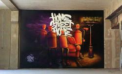 Down Town Gallery Krefelder Perspektivenwechsel I Street Art I Samara Blue I Bunker I Tubuku
