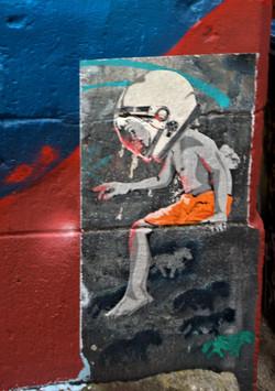 Streetart I Graffiti I Urban Art Düsseldorf I Kieferstraße I Düsseldorf I Urbexart I Sei Leise