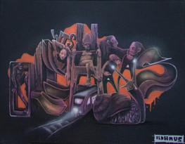 Streetart I Kiefernstraße I Graffiti I Turbo Urban I Samara Blue Urbex Art I Streetart Düsseldorf