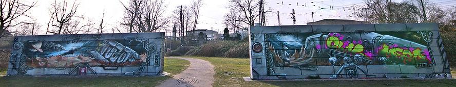 Street Art I Volta Platz Krefeld I TUBUKU I Lifestyle I Graffiti I Design I Urbex Art I Samara Blue
