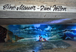Down Town Gallery I Krefelder Perspektivenwechsel I Street Art I Samara Blue I Gregor Wosik