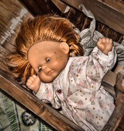 Haus der Puppen I Urbex Art I Lost Place I Samara Blue Photo Art I Verlassene Orte