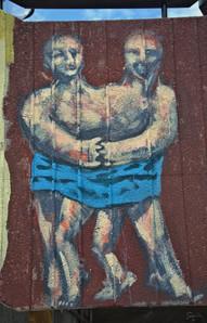 Streetart I Graffiti I Mural I Seidenweberhaus I Silk City Gallery 2021 I Krefeld I Samara Blue Urbex Art