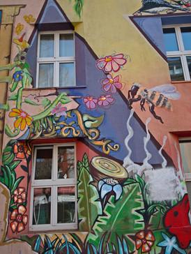 Street Art I Düsseldorf Kiefernstraße I Urbex Art I Samara Blue Photo Art