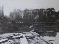 Zerstörtes Freibad Krefeld Okt 1944