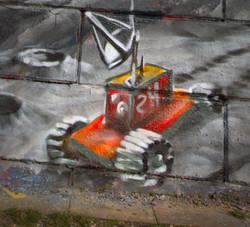 Streetart I Graffiti I TUMUKU I Wayofstile I Urbexart I Samara Blue