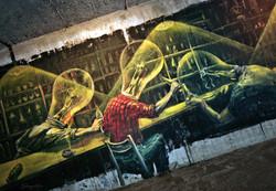 Down Town Gallery I Krefelder Perspektivenwechsel I Street Art I Samara Blue I Alex Weigand