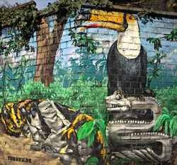 TUBUKU I Street Art I Samara Blue Urbex Art I Samara Blue I In einem Land vor unserer Zeit