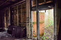 Ausgebranntes Hotel I Urbex Art I Lost Place I Samara Blue Photo Art I Verlassene Orte