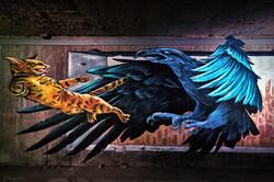 Down Town Gallery I Krefelder Perspektivenwechsel I I Street Art I Samara Blue I Ruben Ponci
