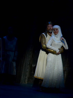 Clarence Brown Theatre Production of SPAMALOT. Directed by Bill Jenkins. Choreographed by Christie Zimmerman.