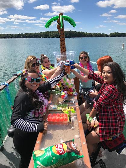 Bachelorette party in Elkhart Lake, WI