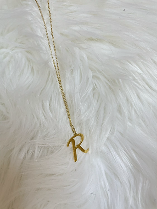 """COLLIER INITIALE """"R"""""""