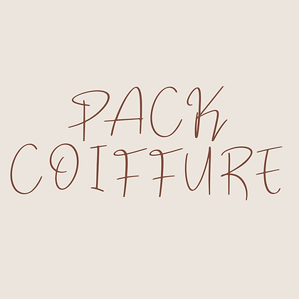 PACK COIFFURE