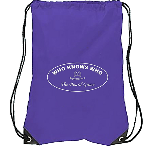 Who Knows Who (Drawstring Backpack)