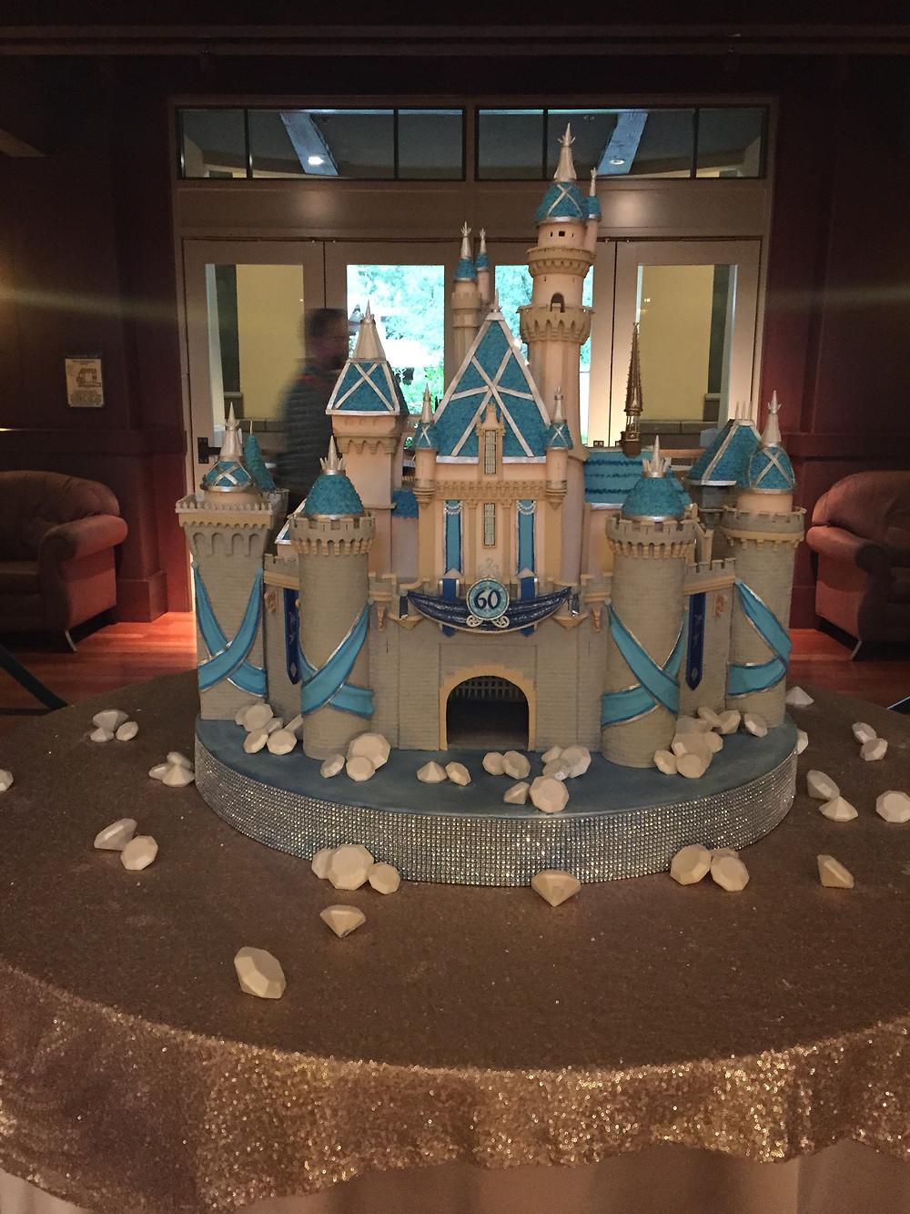 EscapeReno - Disneyland 60th Anniversary Cake