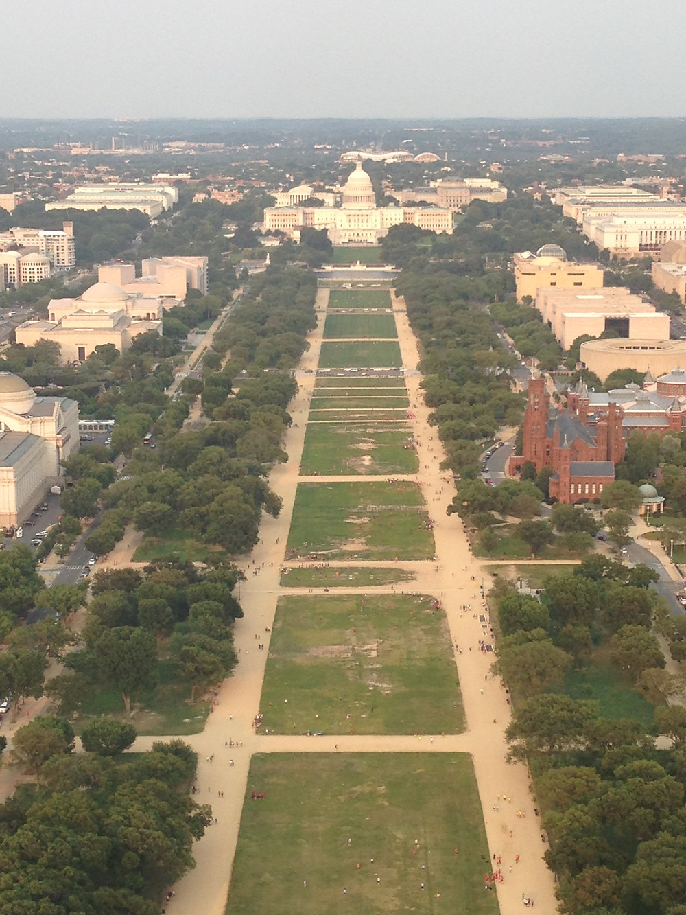 Escape Reno: Views from the Washington Monument, East