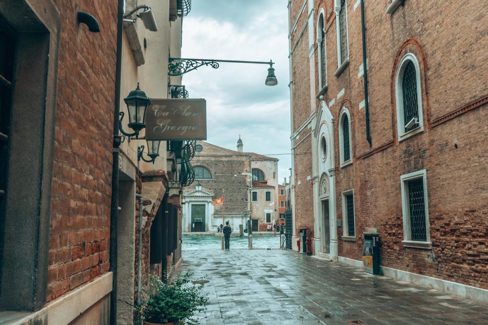 Escape Reno: Ca' San Girorgio in Venice