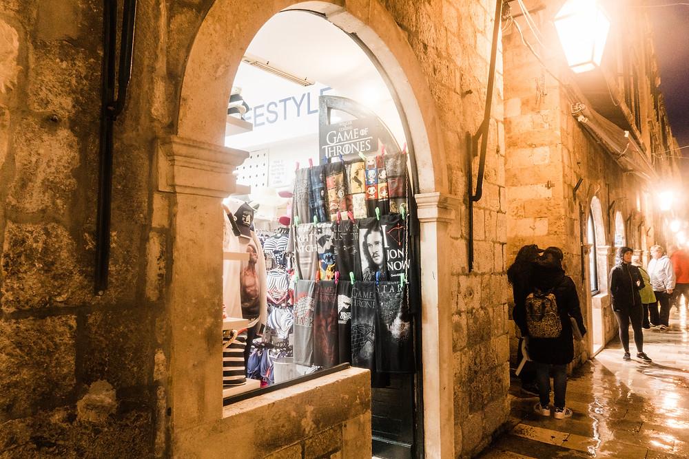 Dubrovnik Game of Thrones