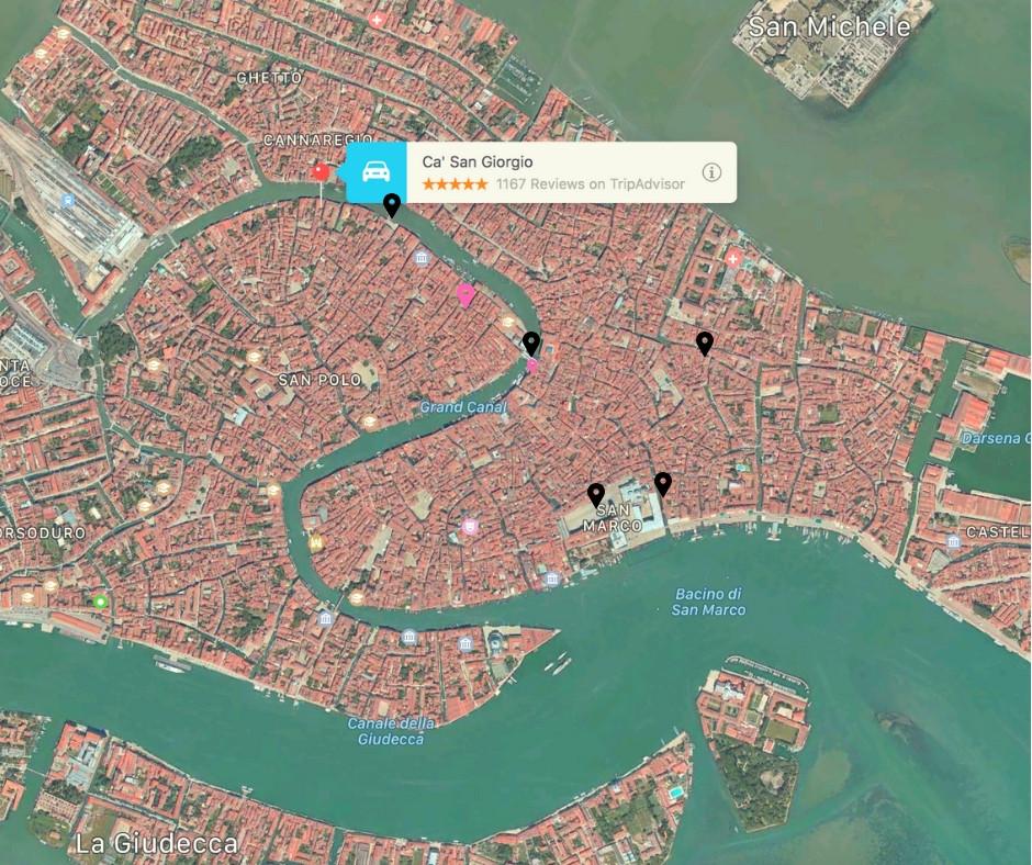 Escape Reno: Venice Map