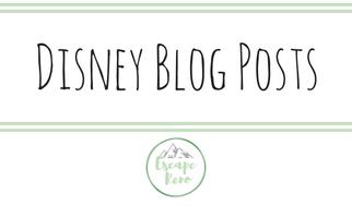 Disney Blog Posts