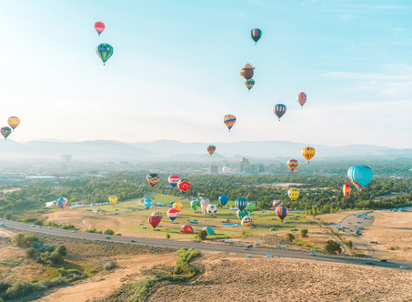 The Great Reno Balloon Races: From Above