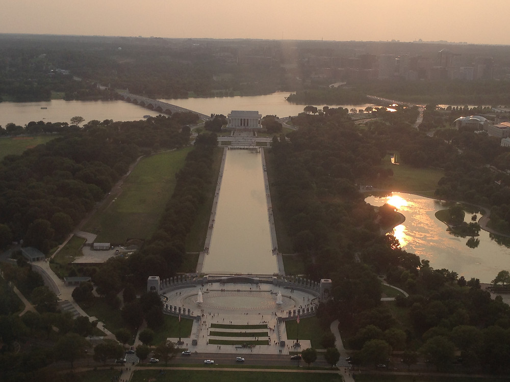 Escape Reno: Views from the Washington Monument, West