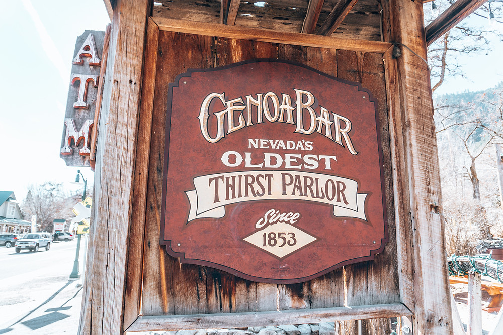 Escape Reno: Genoa Bar