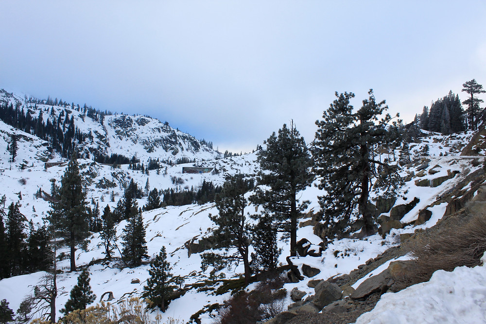 Winter at the Donner Train Tunnels