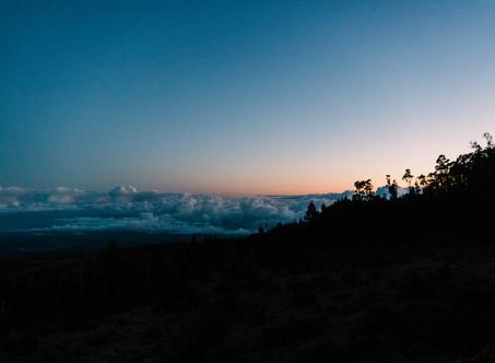 Biking Haleakalā Mountain on Maui