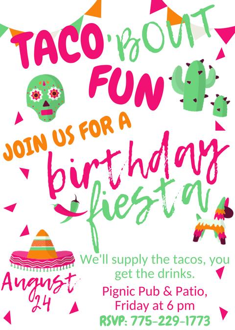 Escape Reno: Birthday Fiesta