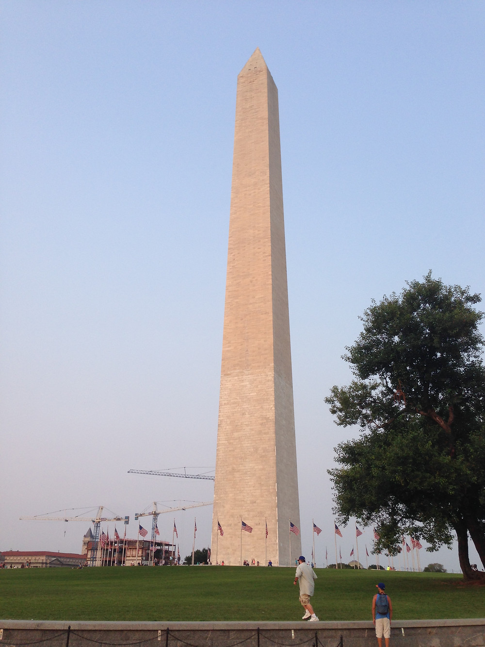Escape Reno: A Visit to the Top of the Washington Monument