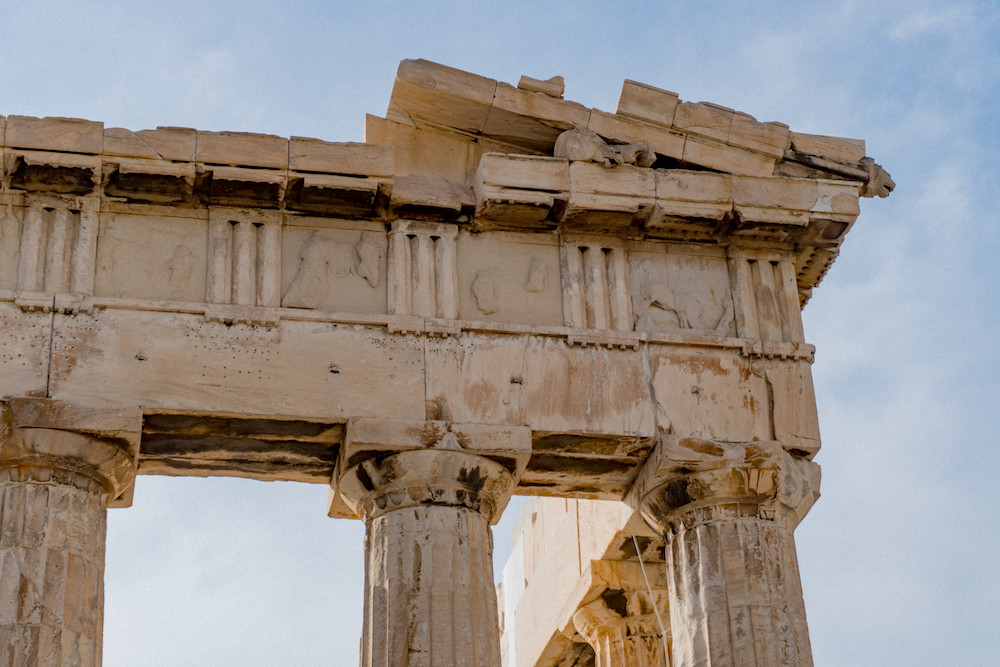 Visiting the Acropolis in Athens