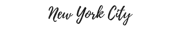 New York City Blog Posts