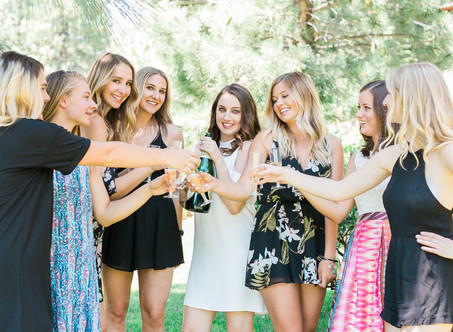 Brunch & Bubbly: My Lake Tahoe Bridal Shower