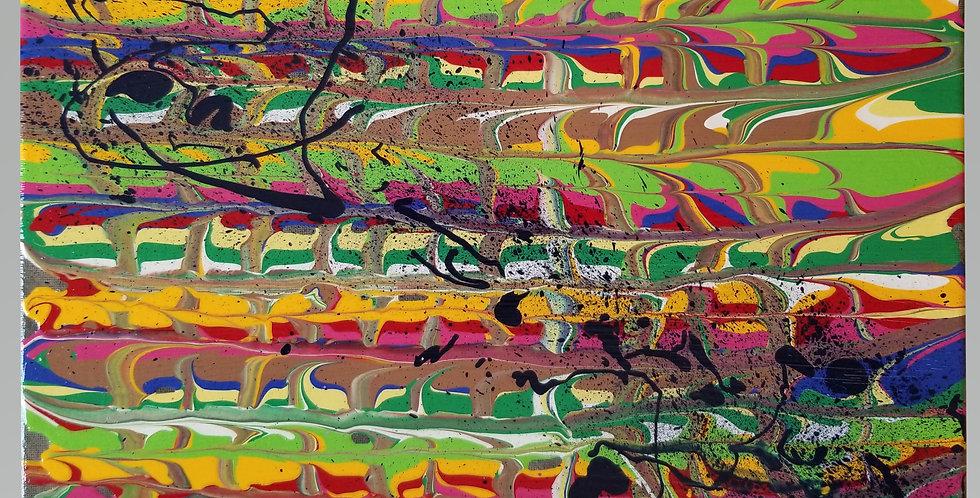 "Abstract Art  11"" x 14""  P106"