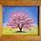"Thumbnail: PINK TREE FRAMED    8""x 10"""
