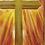 """Thumbnail: Cross Framed  5"""" x 7"""""""