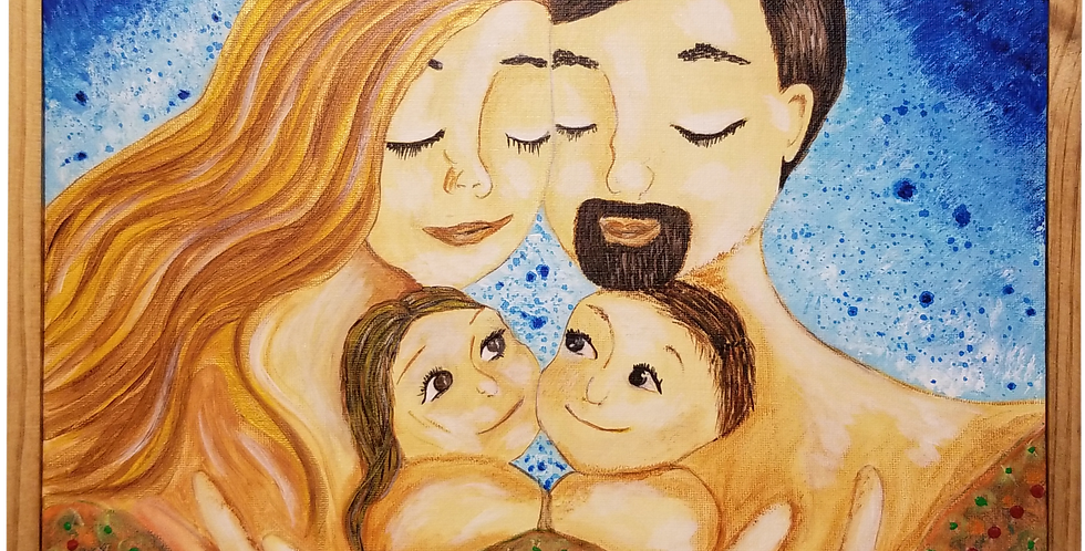 "Family Framed 11"" x 14"""