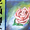 """Thumbnail: Roses Blue Framed 5"""" x 7"""""""