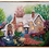 """Thumbnail: Cottage with Water Wheel Framed 16"""" x 20"""""""